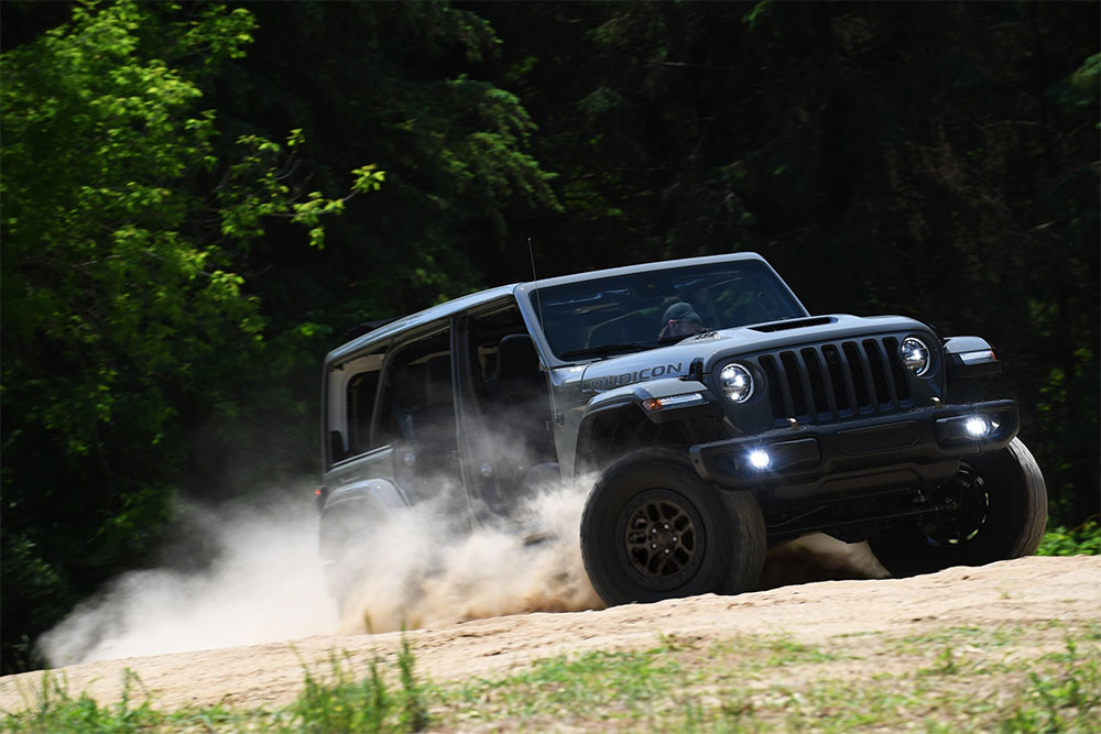 New Jeep® Wrangler Xtreme Recon Package Takes 4x4 Capability to New Levels