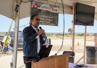 Hurd attends Escondido Draw Recreational Area grand opening in Crockett County