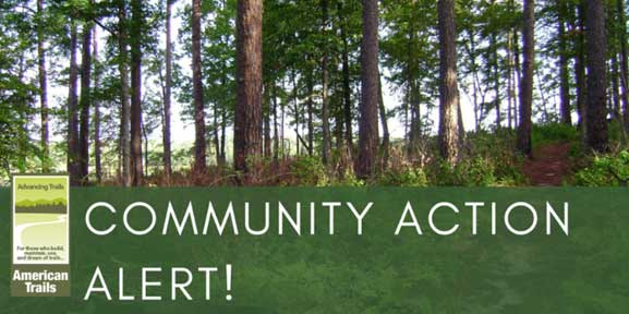 Support the Recreational Trails Program by sending letters